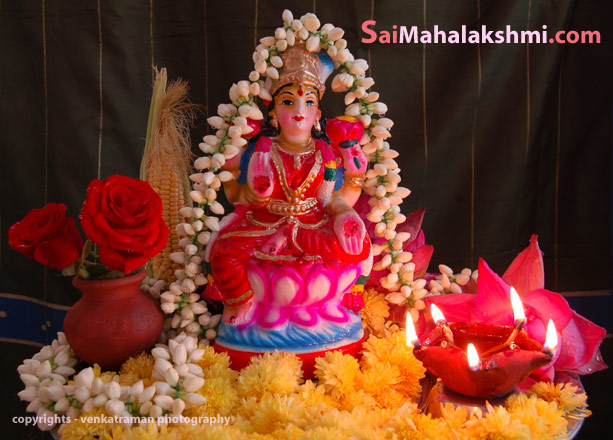 Goddess Mahalakshmi Shirdi saibaba blessings